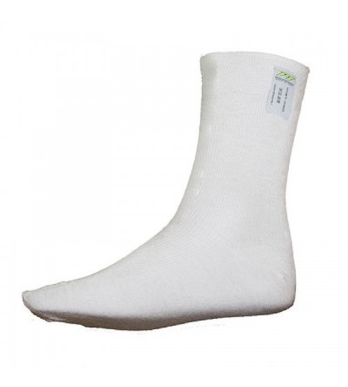 P1 Short Socks White