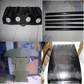 Carbon und Kevlar